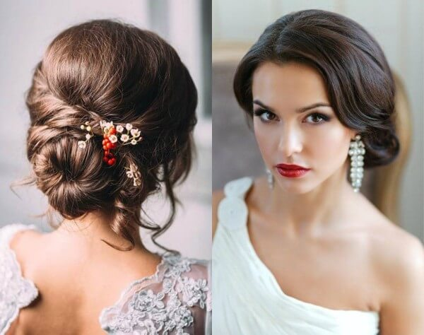 The Bundle Is For A Modest Bride Trending Bridal Hairstyles For Long & Short Hairs