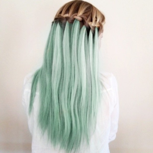 Pastel Luxury Create a contrast in your hair, be brave!