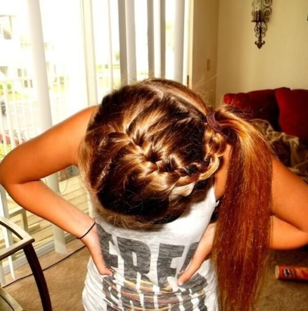 Braided Hairstyle Ideas: Make The Usual Tail More Fun