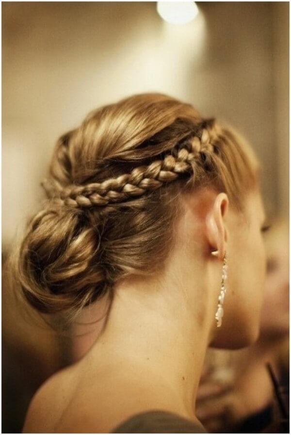 ElegantBraided Hairstyle