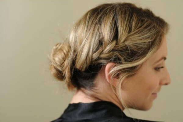 Hair With Side  Braids: French Style