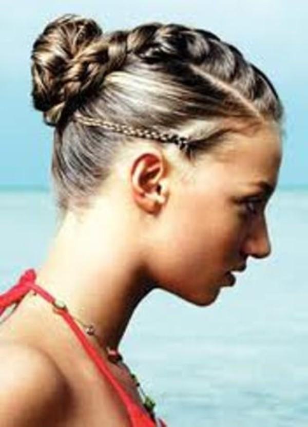 Braided Hairstyle Ideas: Beach Option