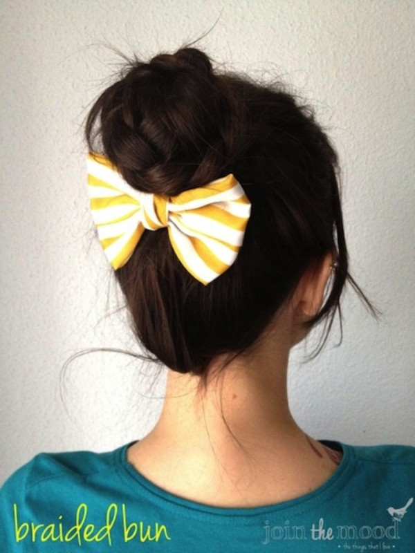 Back To School Braided Hairstyle