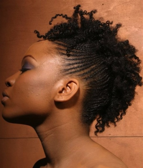 Braided Hairstyle for  African Princess