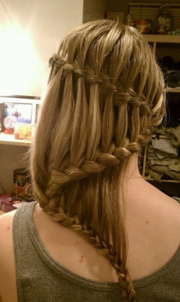 Good Luck Zigzag Braid Hairstyle Demonstrate your skills! Wax or fudge will help you with that.