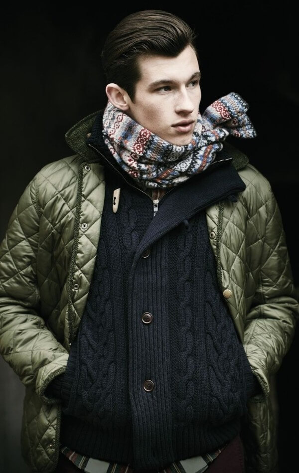 Chinese vs. English Hunters The Style And Fashion Of Quilted Jacket: Men's Winter Wear