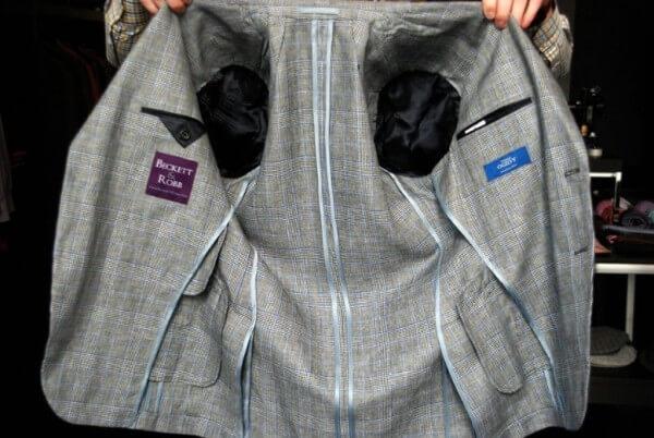 Men grey underlined jacket for winter season
