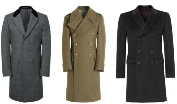 Men's formal & casual single and double-breasted coat for winter season