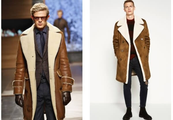 What To Wear Men's Sheepskin Coats Gucci Fashion & Style Through The Decades