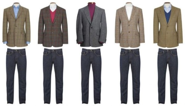 How to pair men's sports jacket with jeans, tips and tricks for combination