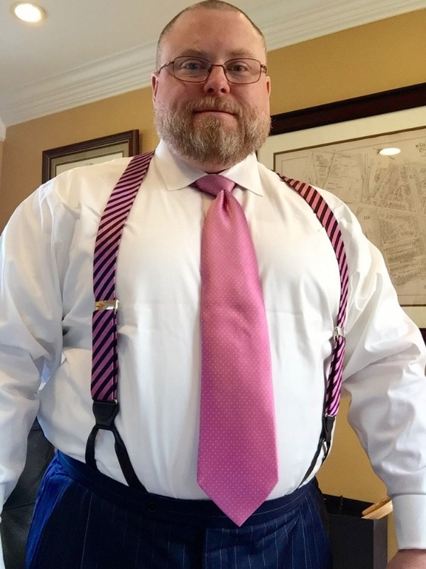 Large size men's suspenders (or Braces) for any occasion