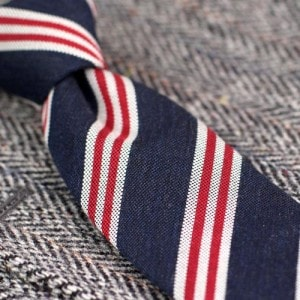 Wool striped ties for any occasion How to Select Tie To Match Tweed Jacket
