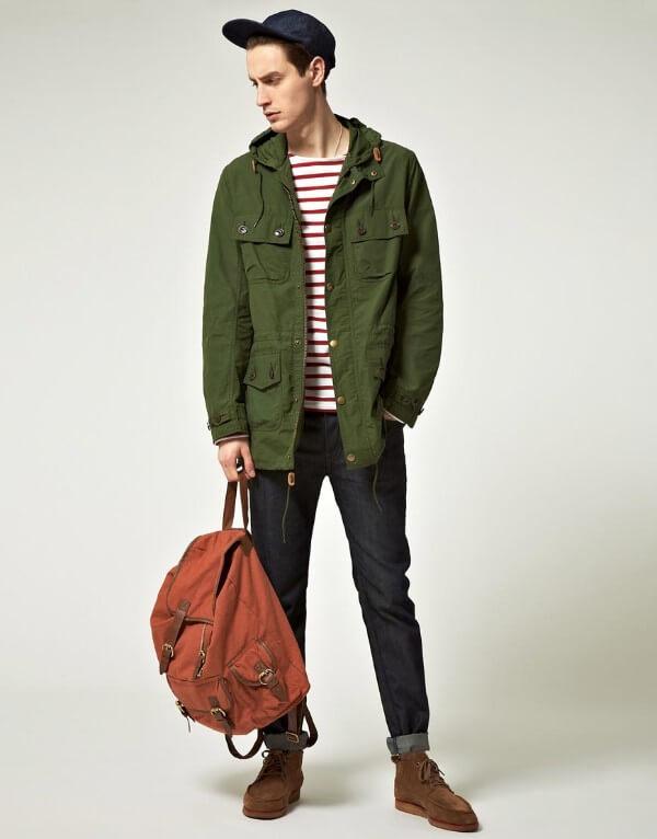 Stylish Ways To Wear Men's P arka Jackets