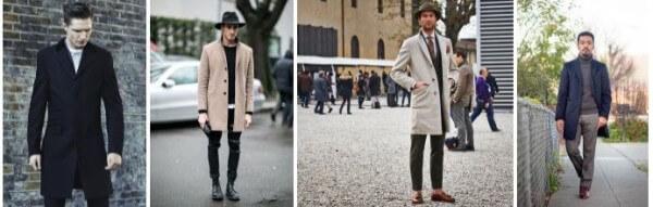 New men's ultra long trench coats & overcoat for winter season