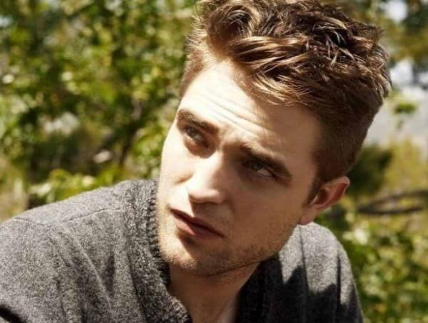 Hollywood actor Robert Pattinson canadian haircut