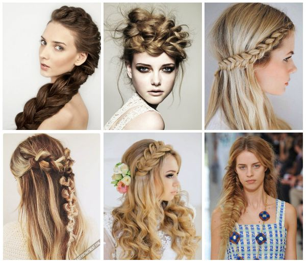 The Prettiest Braided hairstyles for wedding fashion or casual look