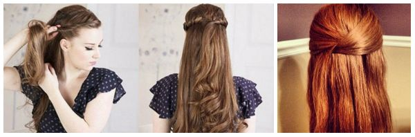Double twist, Twisted Halo & Side Twist Long hairstyle for girls step by step tutorial