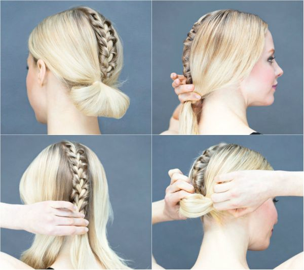 Make The Boring Low Beam Fun! Simple Hairstyles For A Strict Dress Code