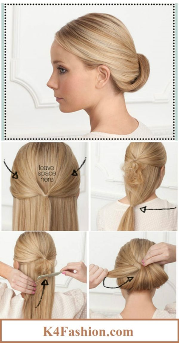 Turn To The Classics Simple Hairstyles For A Strict Dress Code
