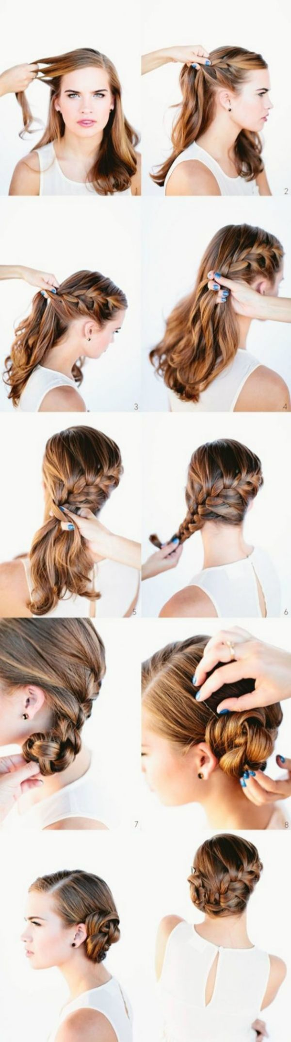 Office Hairstyles: Don't Be Afraid Of Romance Simple Hairstyles For A Strict Dress Code