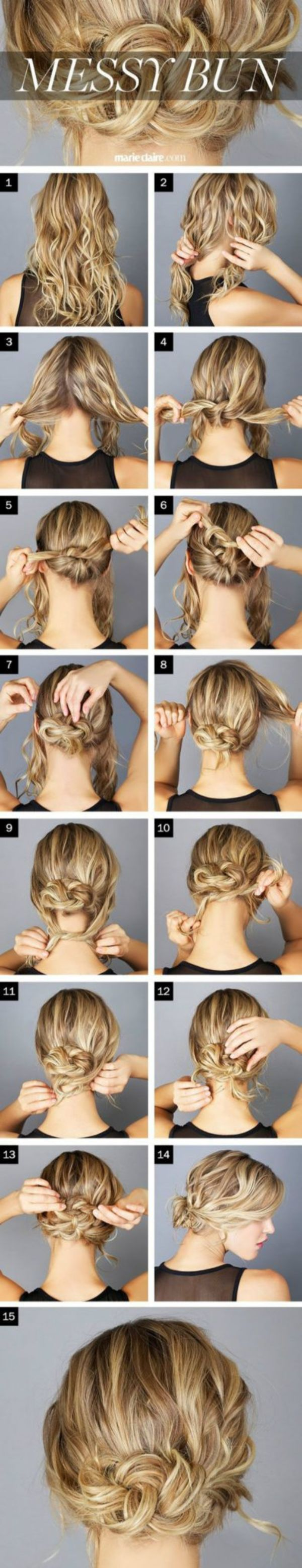 Tie Up The Nodules To Remember Simple Hairstyles For A Strict Dress Code