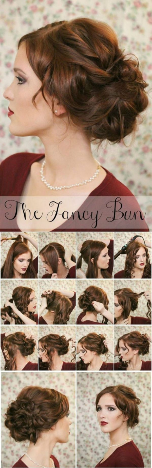 Let Yourself Be Coquettish Simple Hairstyles For A Strict Dress Code