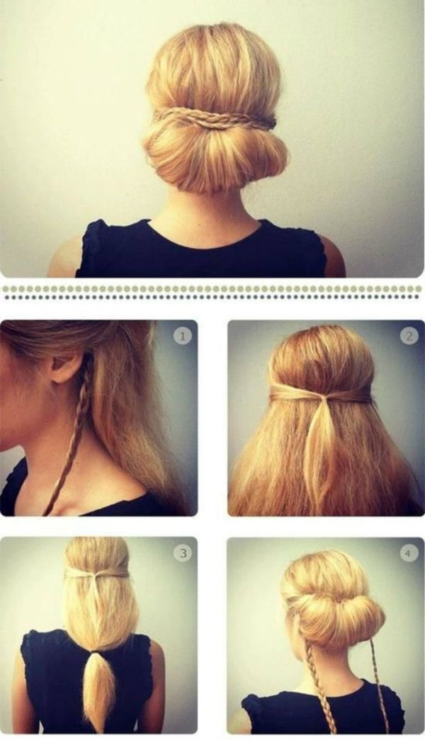 Put Your Hair In The Roller Simple Hairstyles For A Strict Dress Code