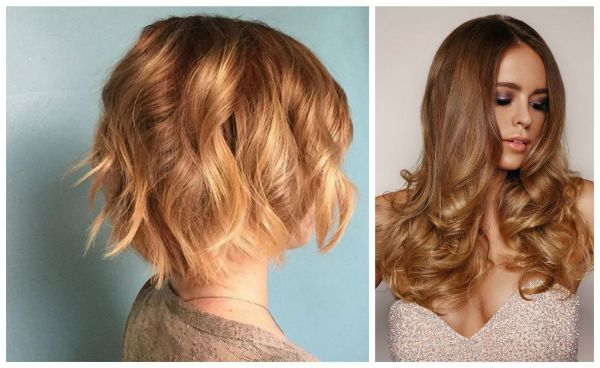 Honey blonde hairstyles is bright & glamorous, the eye attracts the face