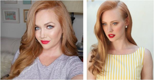 True strawberry blonde hair color is not quite a true red, but not a beach blonde either, it's naturally flattering to fair skin and light eyes