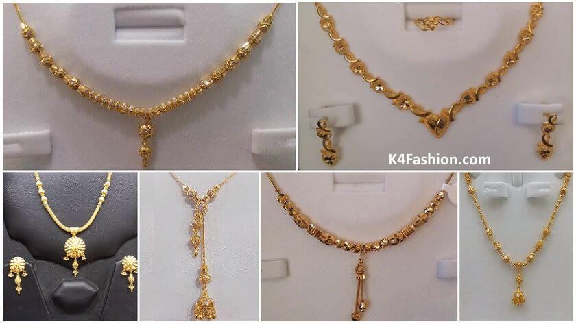 Latest Gold Chain Designs Under 20