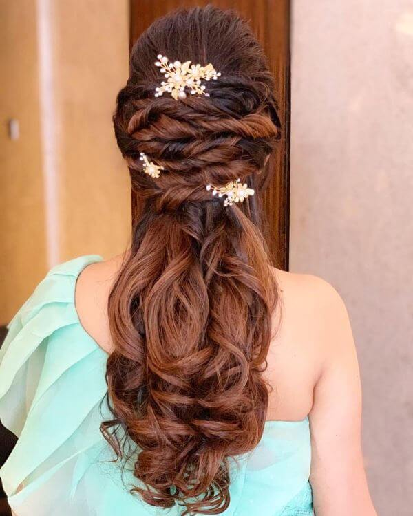 Twisted hairstyle Elegant Hairstyles for Long Hair to Suit Your Style