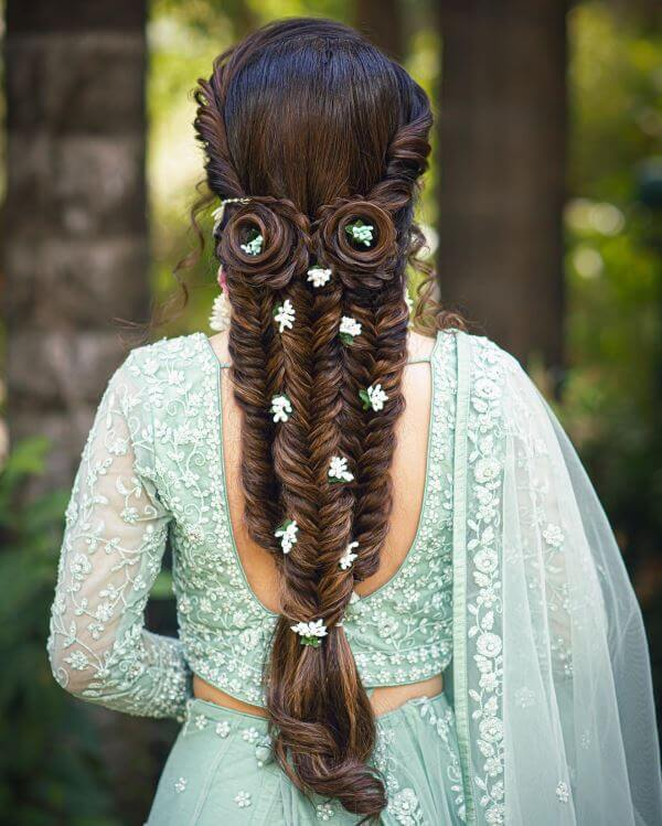 Triple fishtail braid Elegant Hairstyles for Long Hair to Suit Your Style