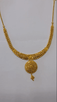 Intricate gold necklace Latest Gold Chain Designs Under 20 Grams Weight