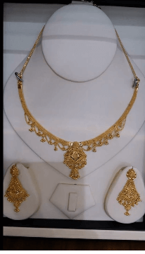 Perfect bridal set Latest Gold Chain Designs Under 20 Grams Weight