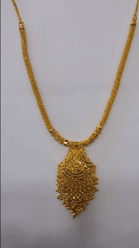 Contemporary necklace Latest Gold Chain Designs Under 20 Grams Weight