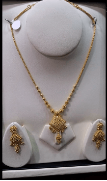 For the old school brides Latest Gold Chain Designs Under 20 Grams Weight