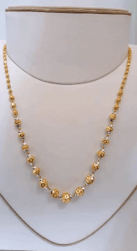 Gold and silver together Latest Gold Chain Designs Under 20 Grams Weight