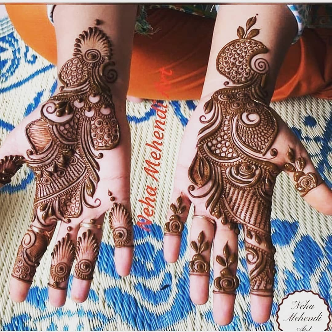 Full coverage mehendi design: Simple Mehendi Designs for Any Special Occasion