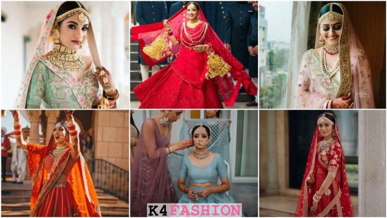 Real Bridal Looks, Styles & Dresses Inspirations