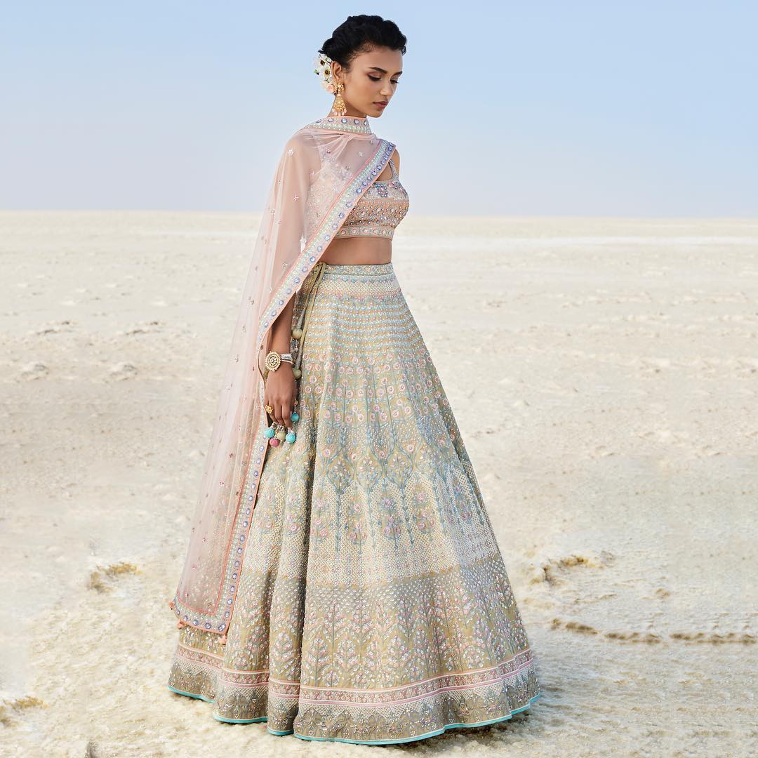 Briallen Lehenga: Silk Saree Designs Inspired from Bollywood Divas