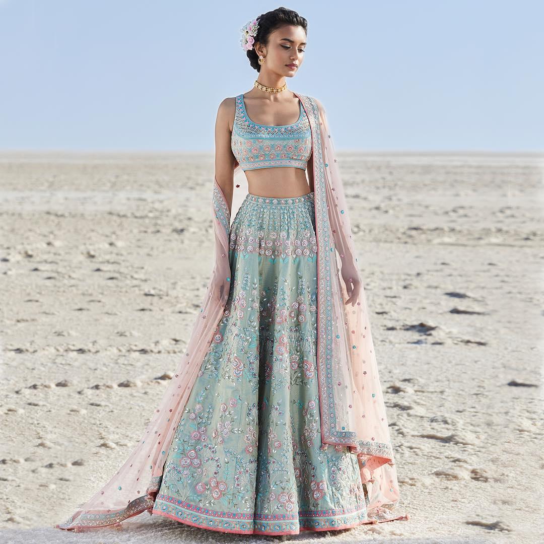 Calida Lehenga: Lehenga Silk Saree Designs Inspired from Bollywood Divas