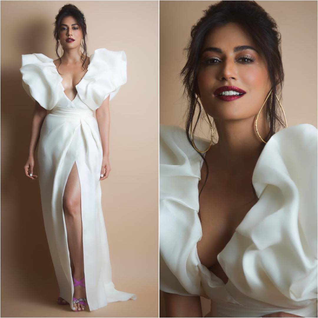 Chitrangada Singh in charming white: Long Evening Dresses in Bollywood Style