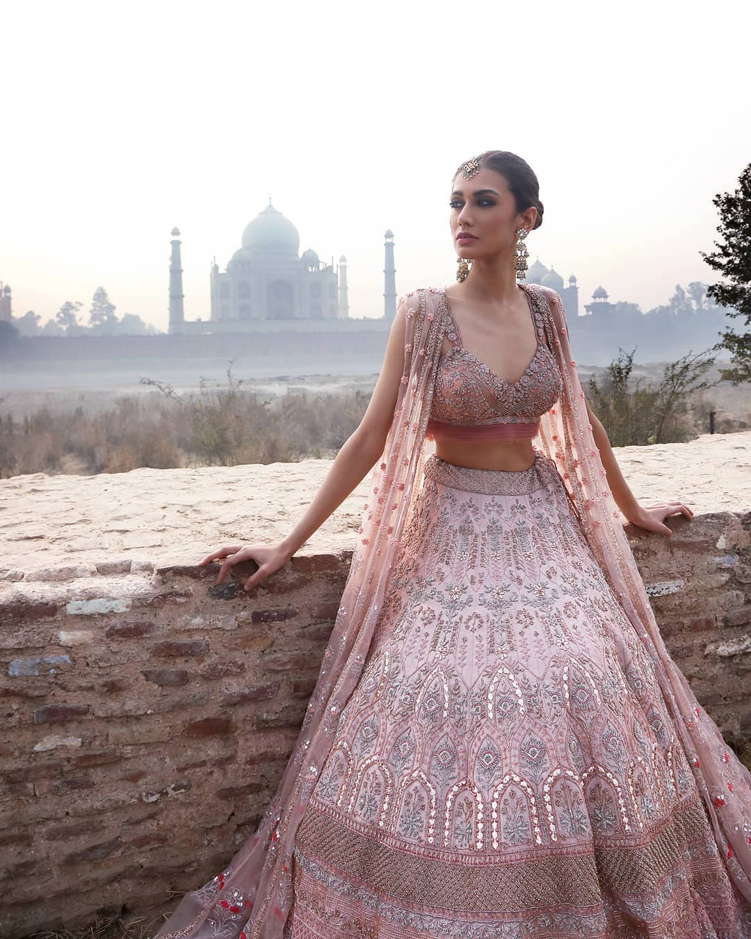Designer lehenga: Light Lehenga Designs for Bride & Bridesmaid