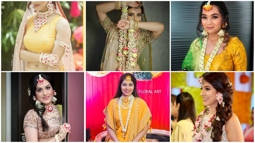 Top 15 Haldi Ceremony Floral Jewellery for Your Wedding