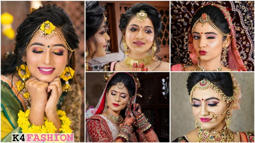 Indian Bridal Makeup Look By Aayushi Patel