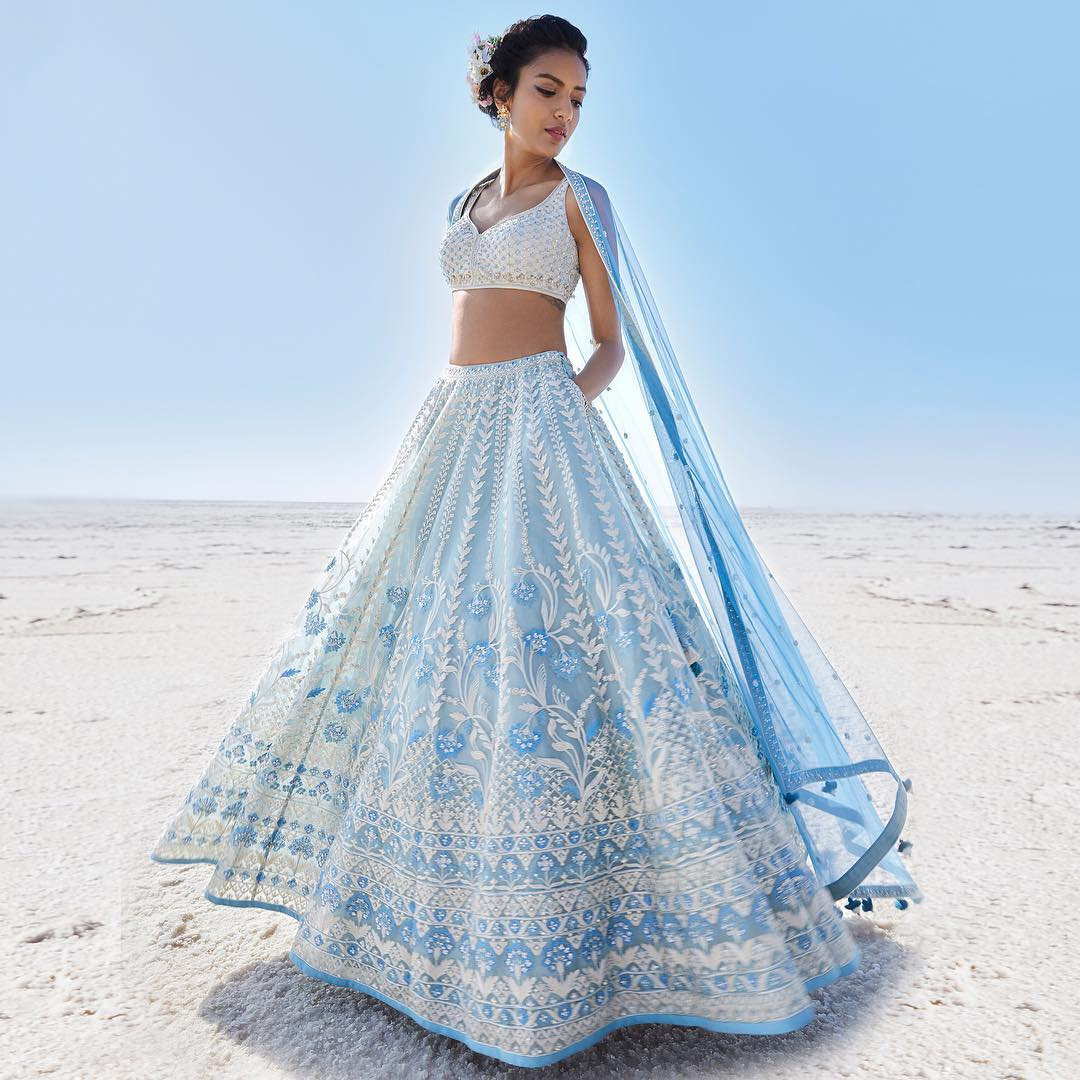 Anita Dongre Inez Silk Saree Designs Inspired from Bollywood Divas