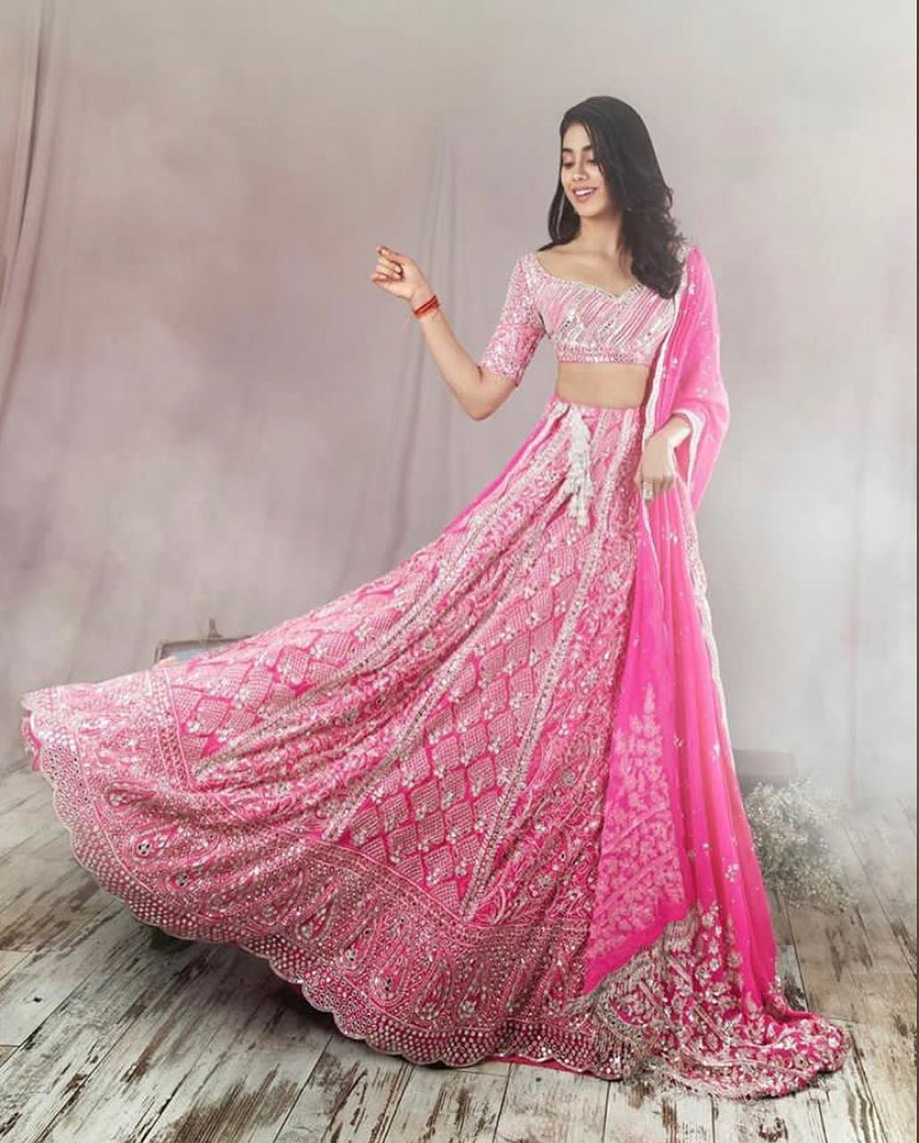 Pretty in pink: Light Lehenga Designs for Bride & Bridesmaid