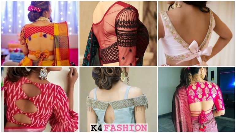 Blouse Back Designs for Modern Womens