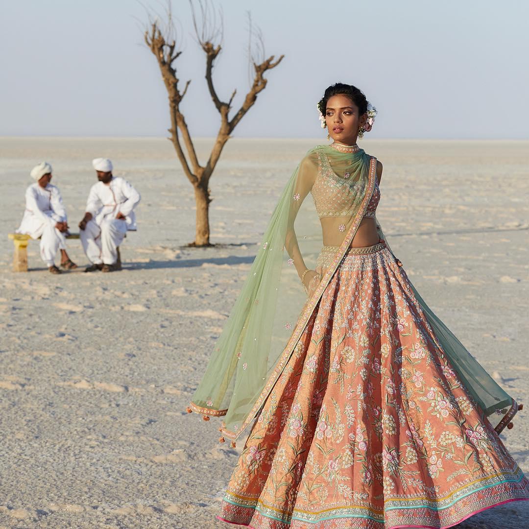 Luna Lehenga: Silk Saree Designs Inspired from Bollywood Divas