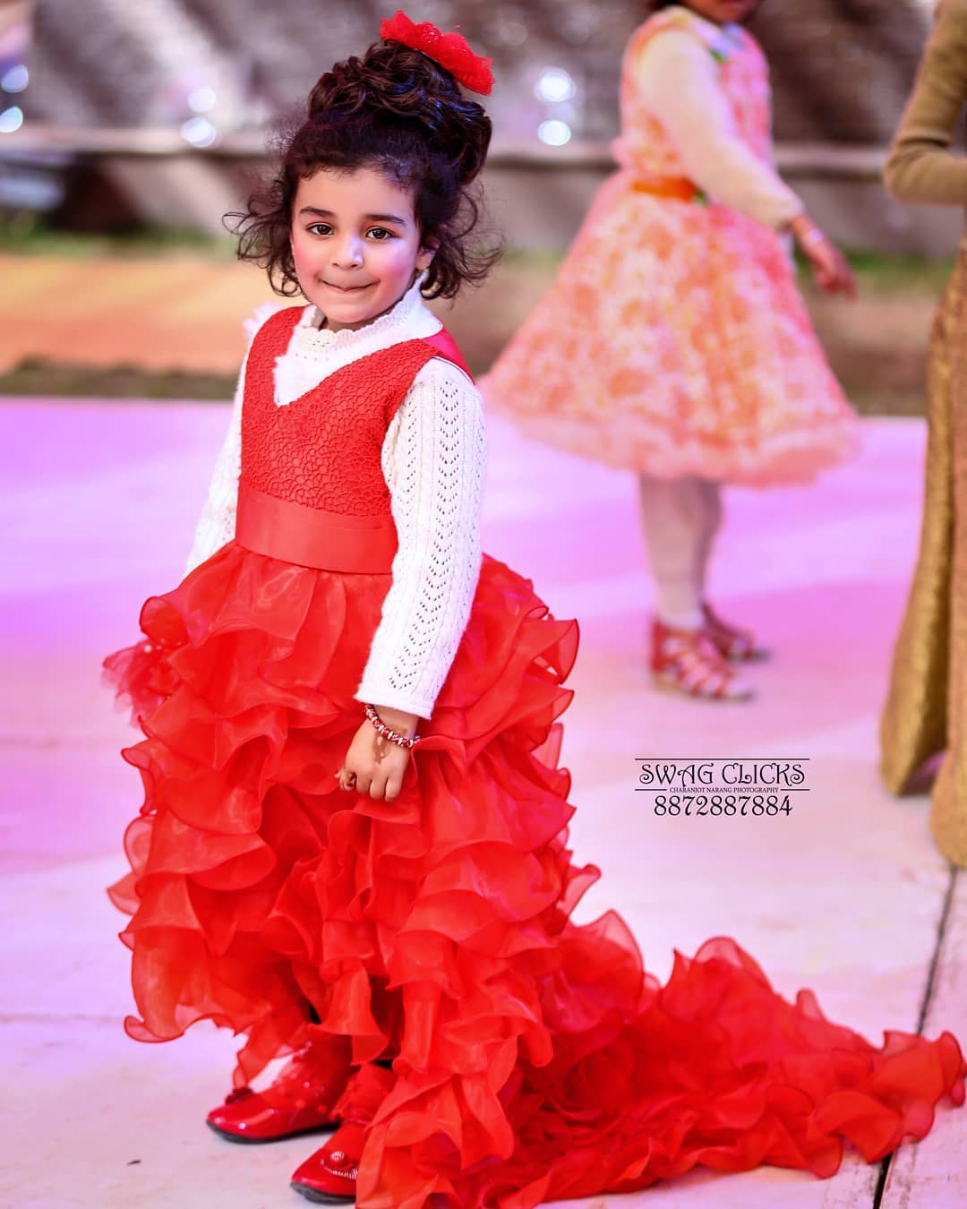 Little Girls Party Wear Dress & Gown Baby Girl Princess Dress Ideas for Memorable Photoshoot